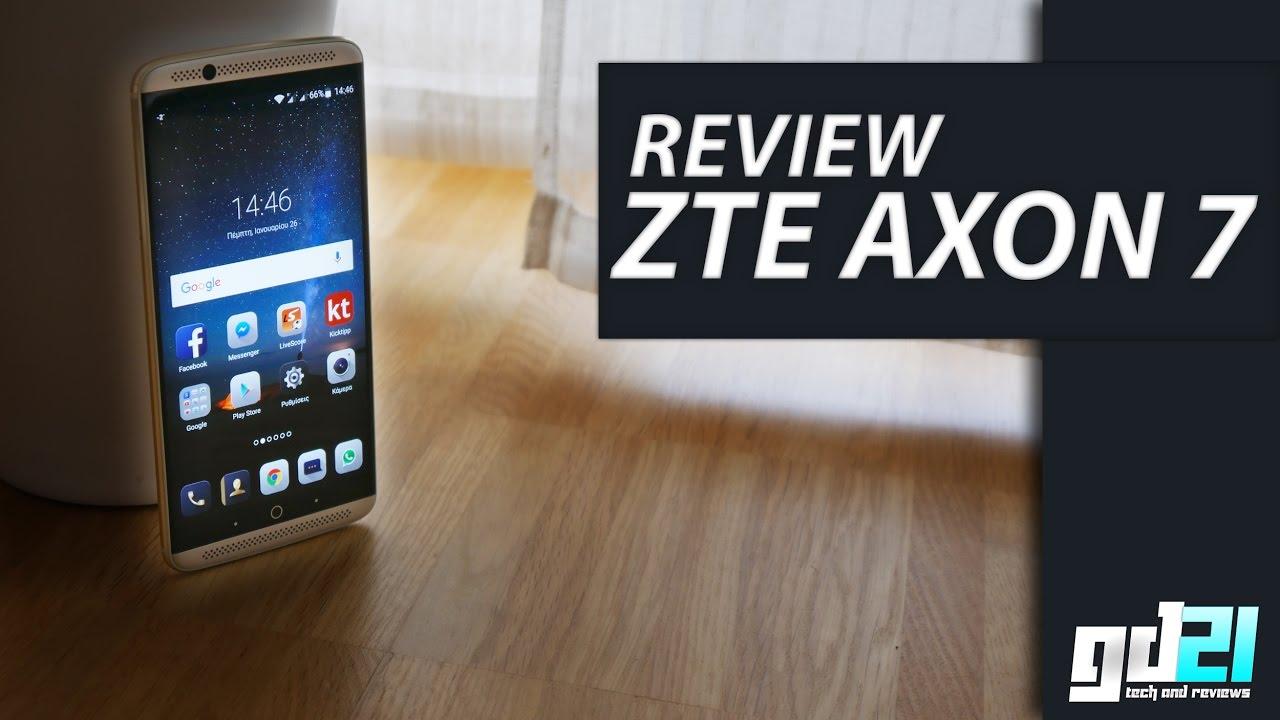 zte axon 7 youtube review also