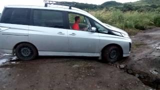 Mazda Biante 4WD тест драйв