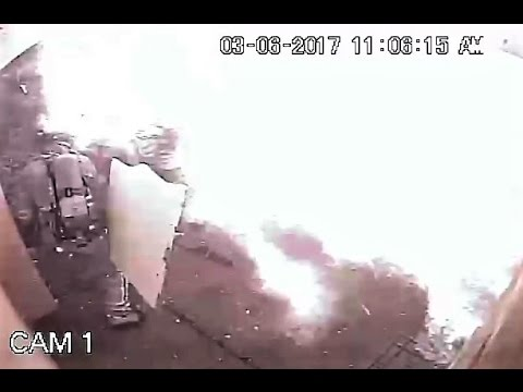 Must see close call for Palm Beach County firefighters