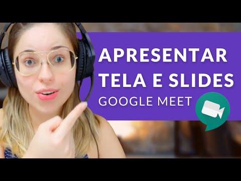 Como compartilhar a tela e fazer uma Apresentação de Slides online (Série Meet e Chat - Ep. 06)