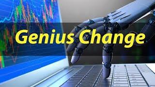 Genius Change - торговый бот Пассивный заработок