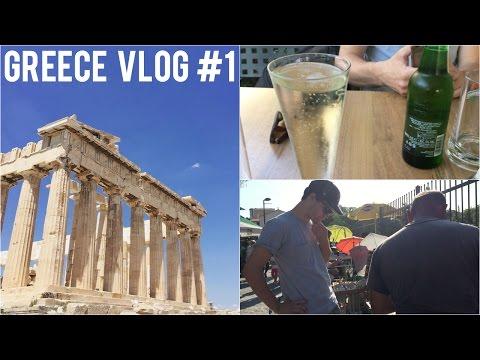 GREECE VLOG 1: BIRTHDAYS, ATHENS, SHOPPING, THE ACROPOLIS