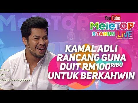 Kamal Adli rancang guna duit RM100 ribu untuk berkahwin !! I MeleTOP