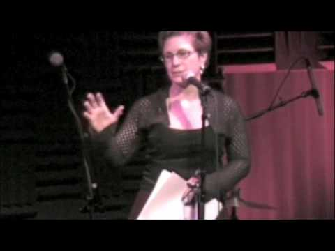 Lisa Kron performs at Heeb Storytelling at Joe's Pub, December 23, 2009