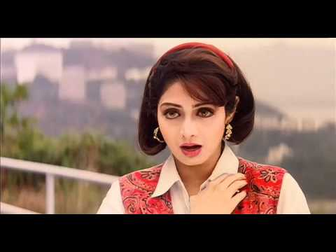 Sridevi and Sanjay Dutt in a song in Gumrah (1993) HD