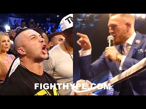 "Thumbnail: CONOR MCGREGOR ATTACKS MAYWEATHER'S SECURITY AND TEAM WITH VERBAL ASSAULT: ""BITCHES ON THE PAYROLL"""