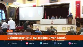 Galatasaray Başkanı Mustafa Cengiz açıklamalarda bulunuyor