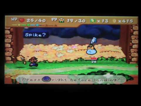 Paper Mario Walkthrough Ch 6 Dark Days In Flower Fields Pt IV