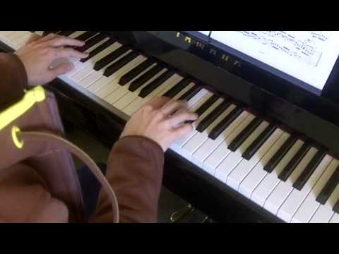 ABRSM Piano 2013-2014 Grade 8 A:2 A2 Bach Prelude And Fugue In A BWV 888 Fugue Performance
