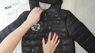 Обзор демисезонной куртки Милитари, ТМ PLeseS
