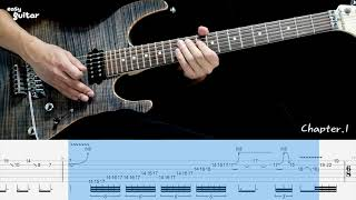 Dream Theater - Spirit Carries On Guitar Solo Lesson With Tab(Slow Tempo)