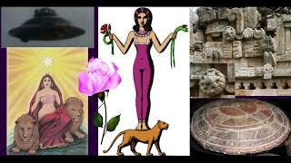 НЛО на древних картинах. НЛО в христианстве. Инопланетяне - это Боги древности. Иисус Христос и НЛО