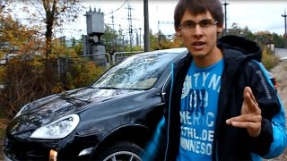 Рассказ о Porsche Cayenne 4.8 и что бывает когда отвлечён..