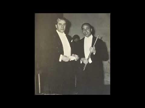 Mozart Concerto per flauto n.2 K 314 - Gazzelloni - Celibidache - Rai Torino (1958)