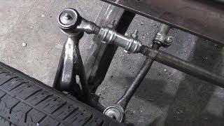 как сделать рулевое на самодельный трактор