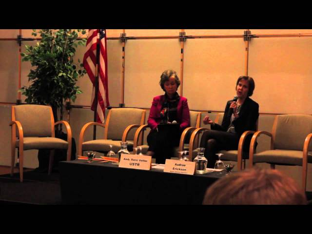WITA TPP Series: What's at Stake for Agriculture-Amb. Darci Vetter Q&A pt. 2  2/11/16