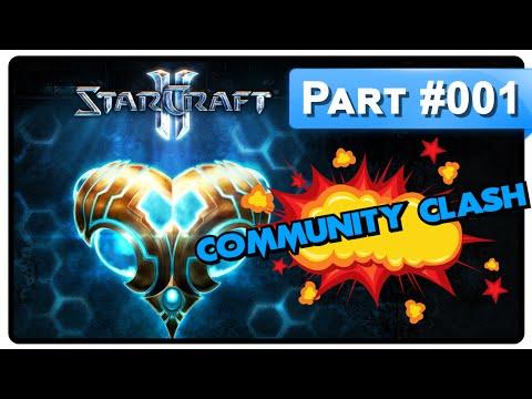 Starcraft II - Community Clash #001 « NightShade vs Mintcrystal » Game 1/3  