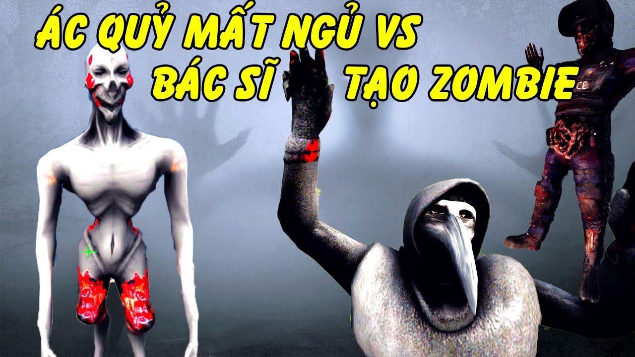 GTA 5 - Bác sĩ dịch hạch tạo Zombie và Ác quỷ gây mất ngủ - Ai mới là con mồi đây | GHTG