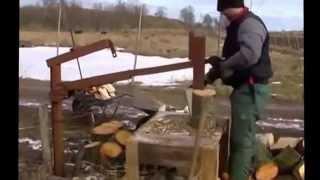 Механизмы для колки дров идеи Кулибиных