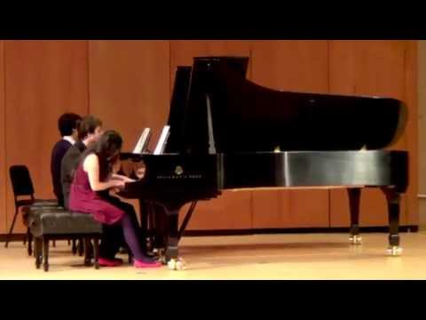 """Waltz of the Flowers"" by Tchaikovsky - Anderson and Roe Piano Duo Master Class"