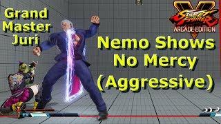 SFV AE - Nemo Urien Shows No Mercy To This Grand Master Juri | First To 5 ( Aggressive )