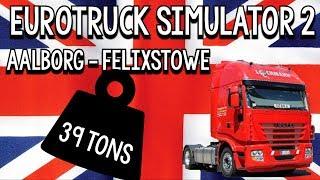 eurotruck simulator 2 aalborg felixstowe 39 tons maskineri