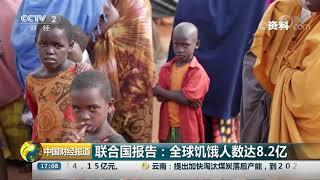 [中国财经报道]联合国报告:全球饥饿人数达8.2亿| CCTV财经
