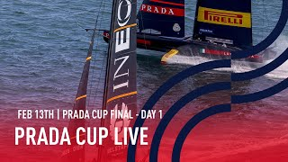 Full Race Replay Day 1 | PRADA Cup FINAL | Luna Rossa Prada Pirelli vs INEOS TEAM UK