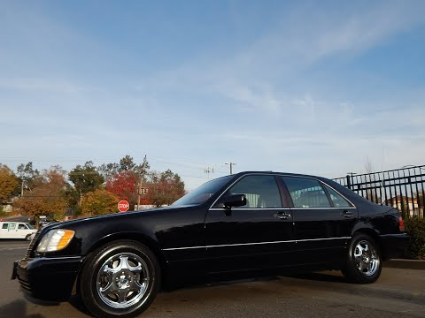 1997 Mercedes Benz S500 test drive video review