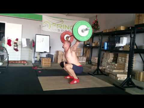 Willie McLendon 100kg Almost 3 Position Snatch