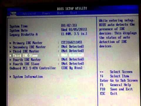 Asus K8s-mx Bios and Sata drive boot