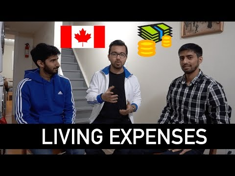 Living Expenses In Canada For Students Basement Tour