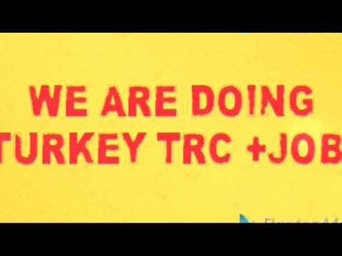 TURKEY JOBS VISA OPPORTUNITY