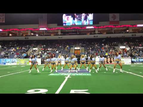 Texas Revolution Dancers Halftime 022616