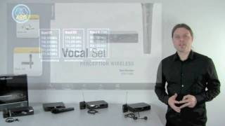 AKG PW 45 Sets - Perception Wireless für Gesang, Sprache und Instrumente