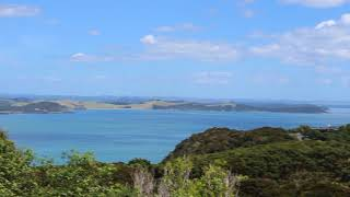 panoramic Bay Of Islands @ Flagstaff hike/Maiki hill- New Zealand