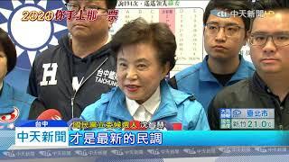 20191230中天新聞 沈智慧拚連任! 秀出問政、支持度「雙料冠軍」