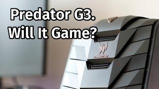 Acer Predator G3 Desktop PC Review [G3-710]