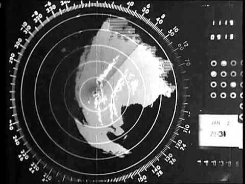NWS Jackson, MS Hurricane Frederic Radar Loop - September 1979