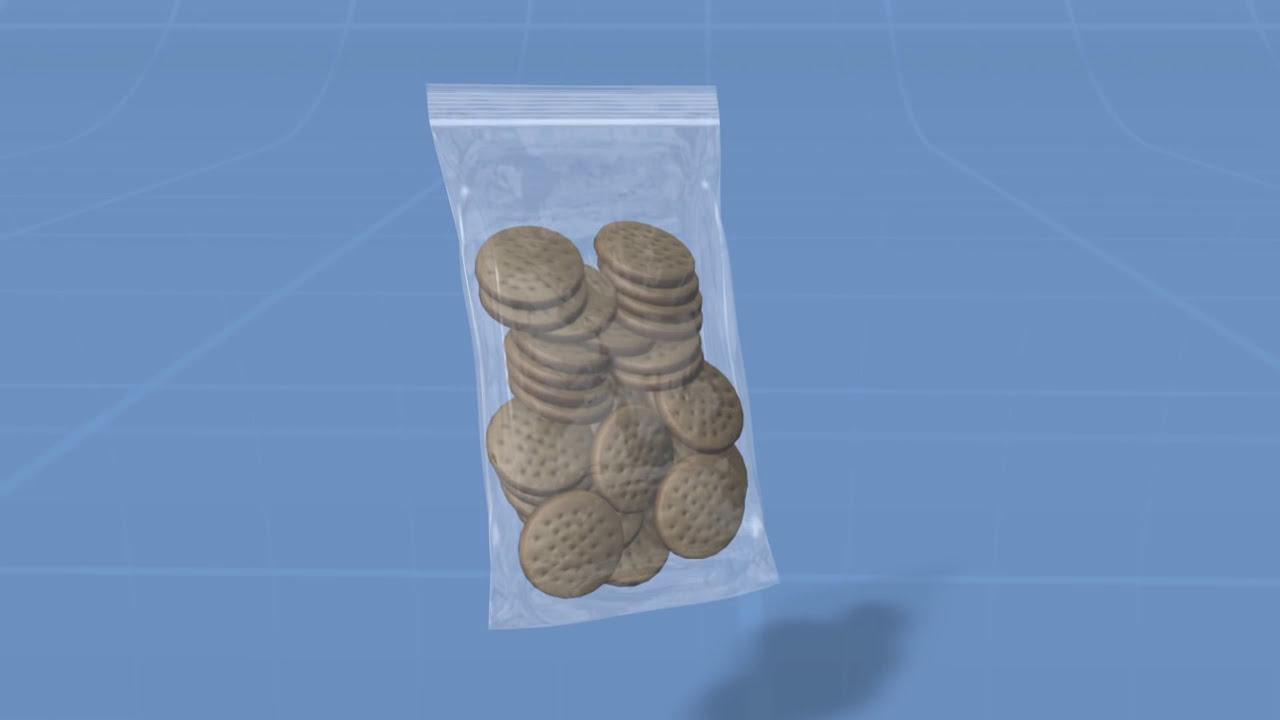 Custom Printed Reclosable Zip Bags
