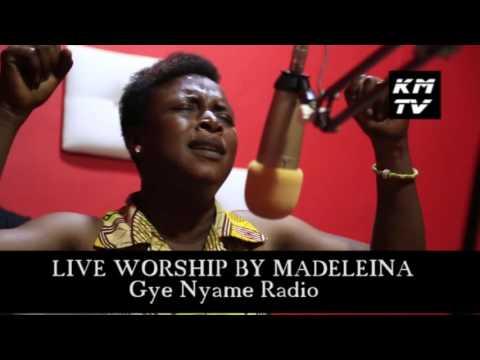 MADELEINA LIVE WORSHIP @ GYE NYAME RADIO