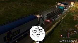 ПРИКОЛЫ, БАГИ, ФЕЙЛЫ, СМЕШНЫЕ МОМЕНТЫ | Euro Truck Simulator 2 Multiplayer