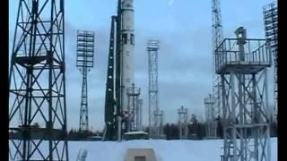 Startvorbereitung der Zyklon-3 11K68 mit Sich 1M (2004)