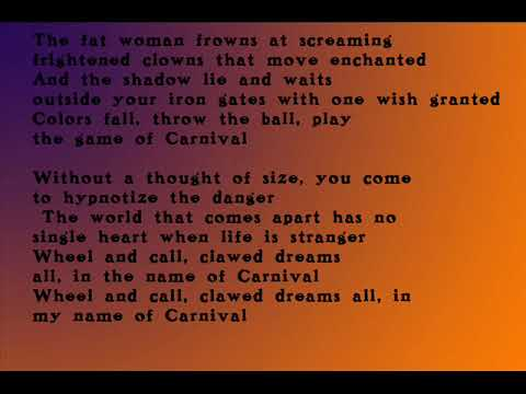Jackson C. Frank [US, Folk Rock / Lyrics on Screen] My Name Is Carnival 1965