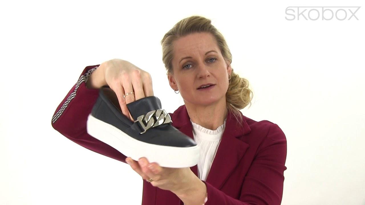 ecb91dd2d8f2 Billi Bi sko – Plateau Sneakers (Mørk blå) item no.  6023-713 - YouTube