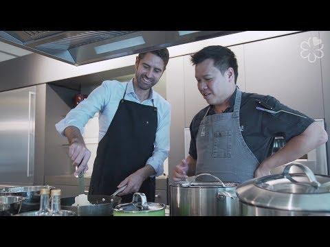 Lamborghini Asia-Pacific CEO Matteo Ortenzi Cooks With Labyrinth Chef-Owner LG Han