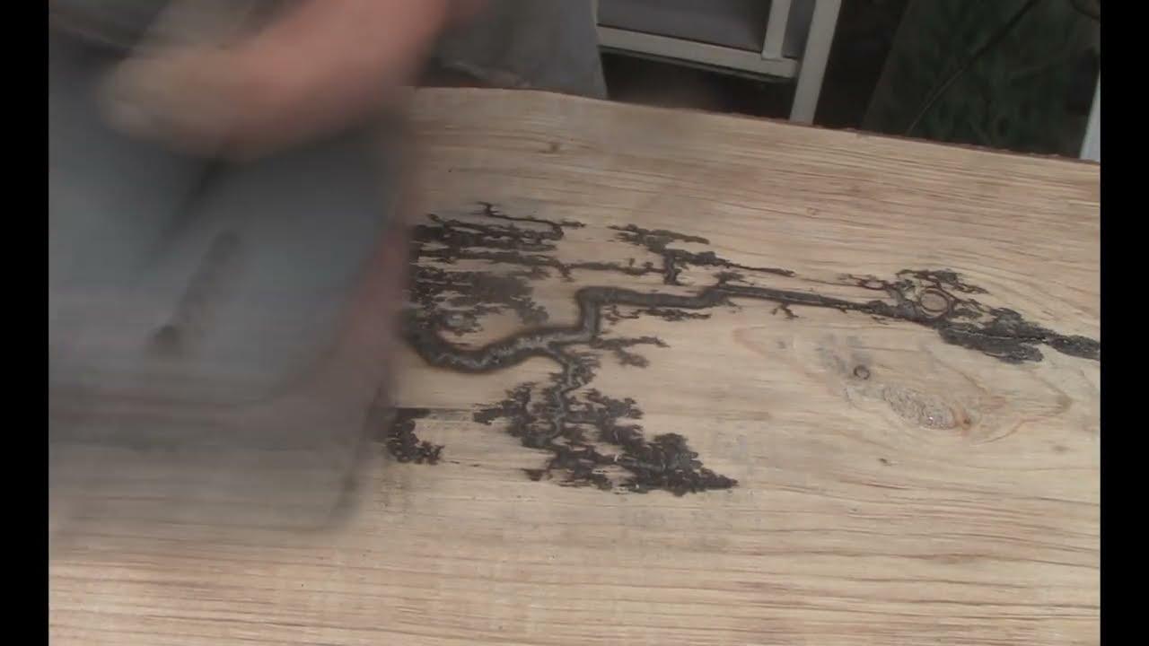 lichtenberg wood burning machine