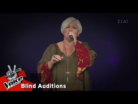 Χριστίνα Ιωάννου - Τα Δειλινά | 14 o Blind Audition | The Voice of Greece