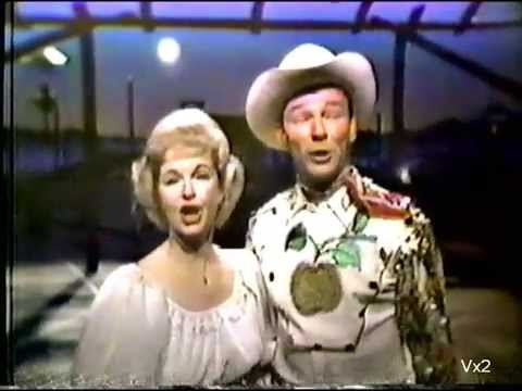 ROY ROGERS & DALE EVANS:  medley of great western songs