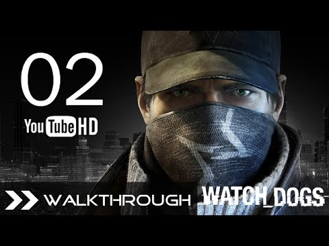 Watch Dogs Walkthrough Gameplay Mission - Part 2 (Act 1 - Backseat Driver) HD 1080p No Commentary